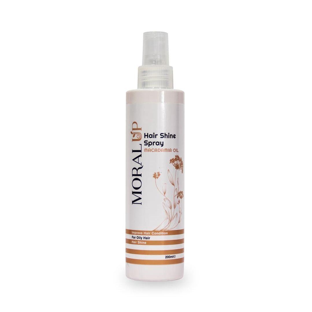 اسپری درخشان کننده مو، حاوی روغن ماکادمیا (مناسب موهای چرب) | بازاریابی شبکه ای